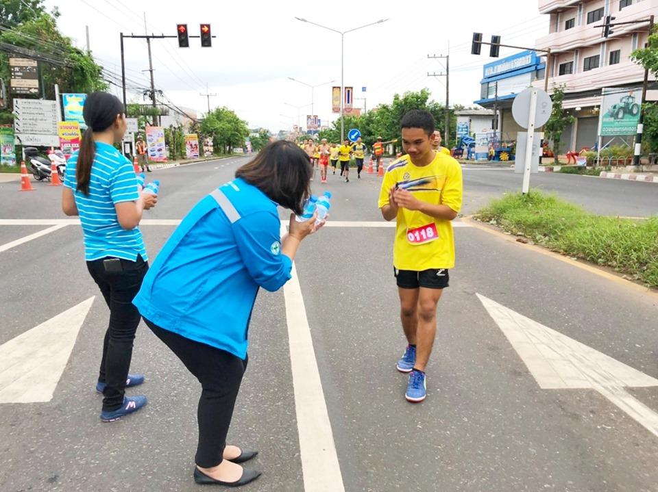กปภ.สาขาอำนาจเจริญร่วม กิจกรรมวิ่งเพื่อสุขภาพ เฉลิมพระเกียรติจังหวัดอำนาจเจริญโครงการ 10 ล้านครอบครัวไทยออกกำลังกายเพื่อสุขภาพเฉลิมพระเกียรติ