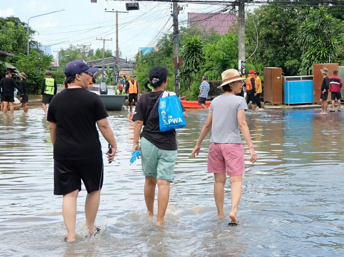 เพราะเรา ชาว กปภ.ข.๘ พร้อมที่จะก้าวข้ามภัยน้ำท่วมอุบลราชธานีไปด้วยกัน