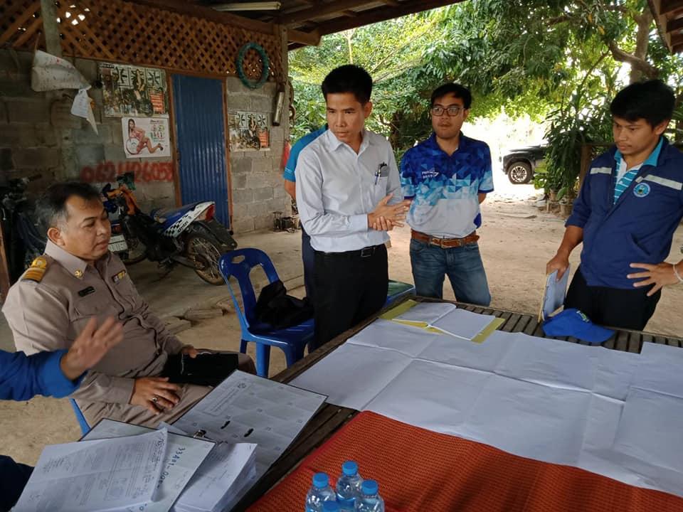 กปภ.สาขามุกดาหาร ร่วมกับ กปภ.ข.8 ลงพื้นที่เตรียมการรับโอนกิจการประปา ชุมชนบ้านป่งเป้า และชุมชนบ้านดงภู