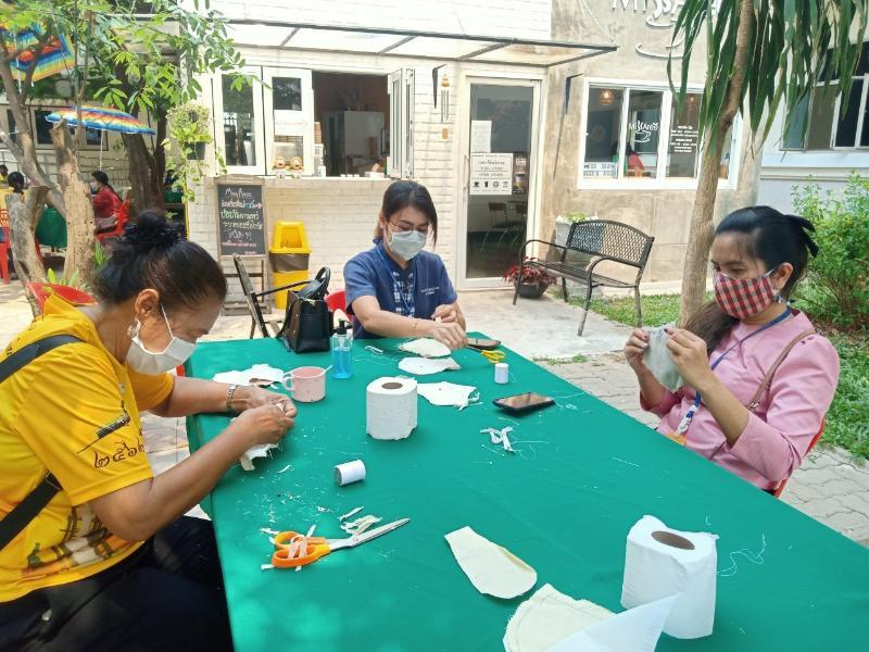 กปภ.สาขายโสธร ร่วมโครงการ วันสตรีสากลรวมพลังสตรีไทยยุคไทยแลนด์ 4.0ร่วมใจแก้ไขปัญหาสังคม รู้เท่าทันไวรัสโควิด 19