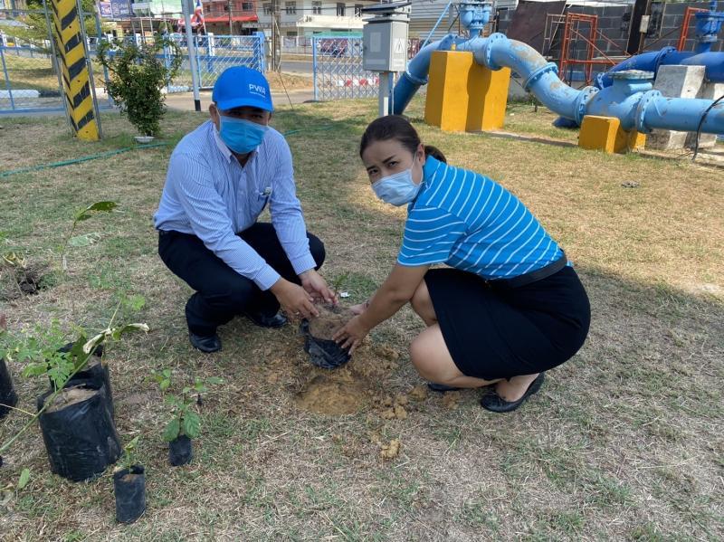 กปภ.สาขามุกดาหารร่วมจัดกิจกรรม วันต้นไม้ประจำปีของชาติ พ.ศ.2563