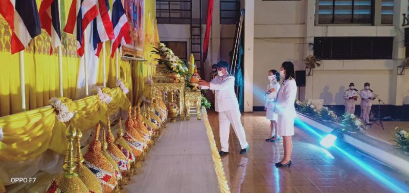 กปภ.สาขาสตึก ร่วมกิจกรรมเฉลิมพระเกียรติพระบาทสมเด็จพระเจ้าอยู่หัว 28 กรกฎาคม 2563