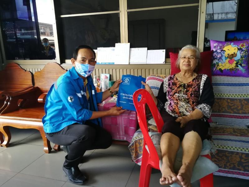กปภ.สาขาสตึก ดำเนินโครงการเติมใจให้กัน Home Care ครั้งที่ 2 ประจำปี 2563