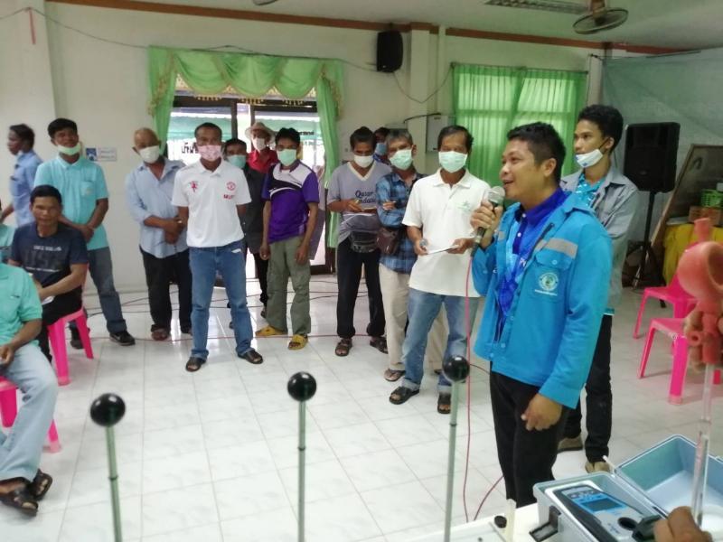 กปภ.สาขารัตนบุรี   ดำเนินโครงการฝึกอบรมให้ความรู้เกี่ยวกับการดูแลคุณภาพน้ำประปาของหมู่บ้านในเขตตำบลพรมเทพ