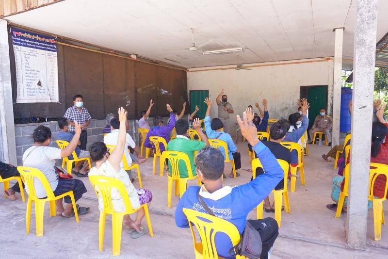 กปภ.สาขามุกดาหารจัดทำประชาคมรับฟังความคิดเห็นการโอนกิจการประปาในพื้นที่ตำบลคำอาฮวน