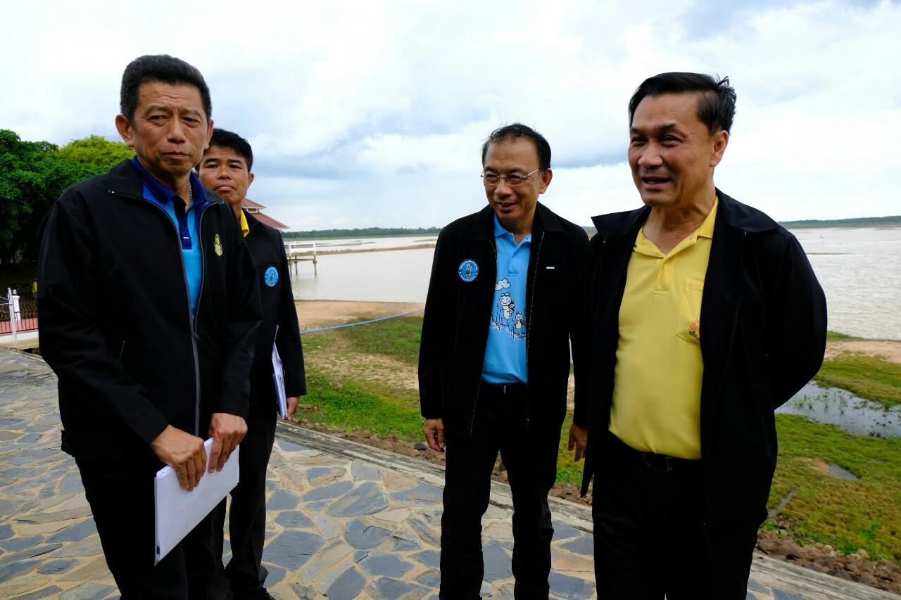 ไฟล์แนบ รัฐมนตรีช่วยว่าการกระทรวงมหาดไทย นายทรงศักดิ์ ทองศรี ลงพื้นที่ ตรวจเยี่ยม กปภ.สาขาบุรีรัมย์