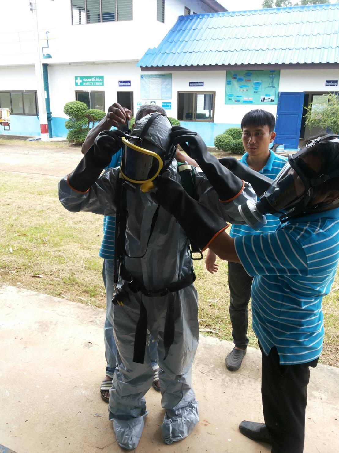 ไฟล์แนบ  กปภ.สาขากันทรลักษ์ จัดฝึกอบรมซักซ้อมแผนฉุกเฉินป้องกันแก๊สคลอรีนรั่วไหล