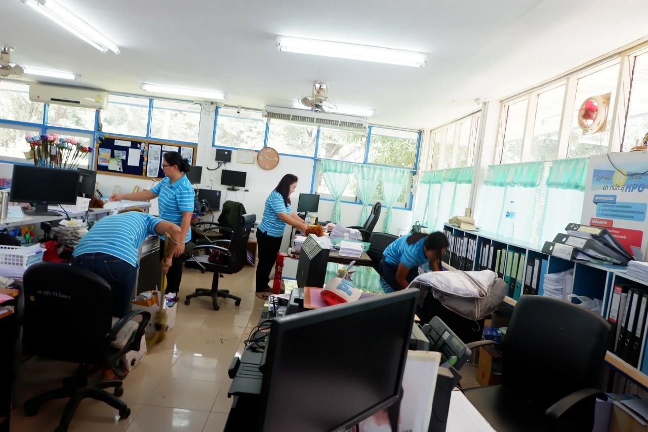 """ไฟล์แนบ กปภ.สาขาเดชอุดมจัดกิจกรรม """"Big Cleaning day"""" บริเวณรอบอาคารสำนักงาน ประจำปี 2562"""